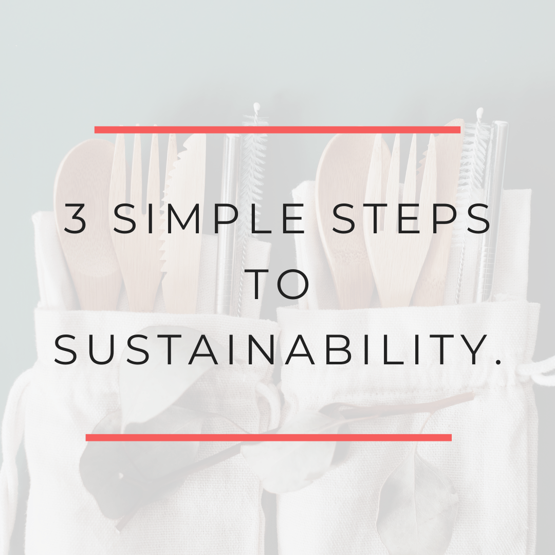 3 Simple Steps to Live a Sustainable Lifestyle