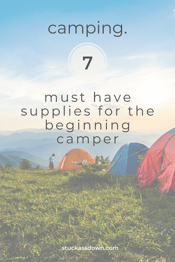7 fair weather camping supplies