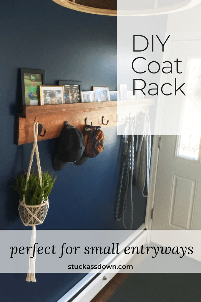 DIY Coat Rack Pin