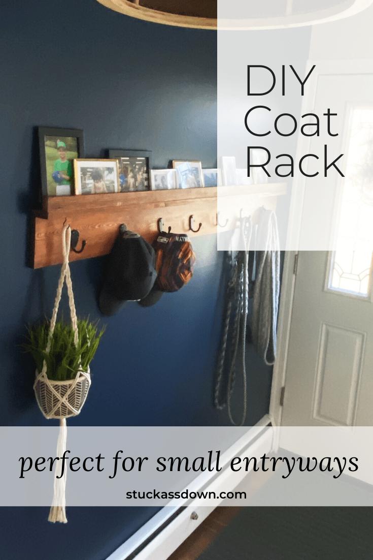 DIY Coat Rack Pin