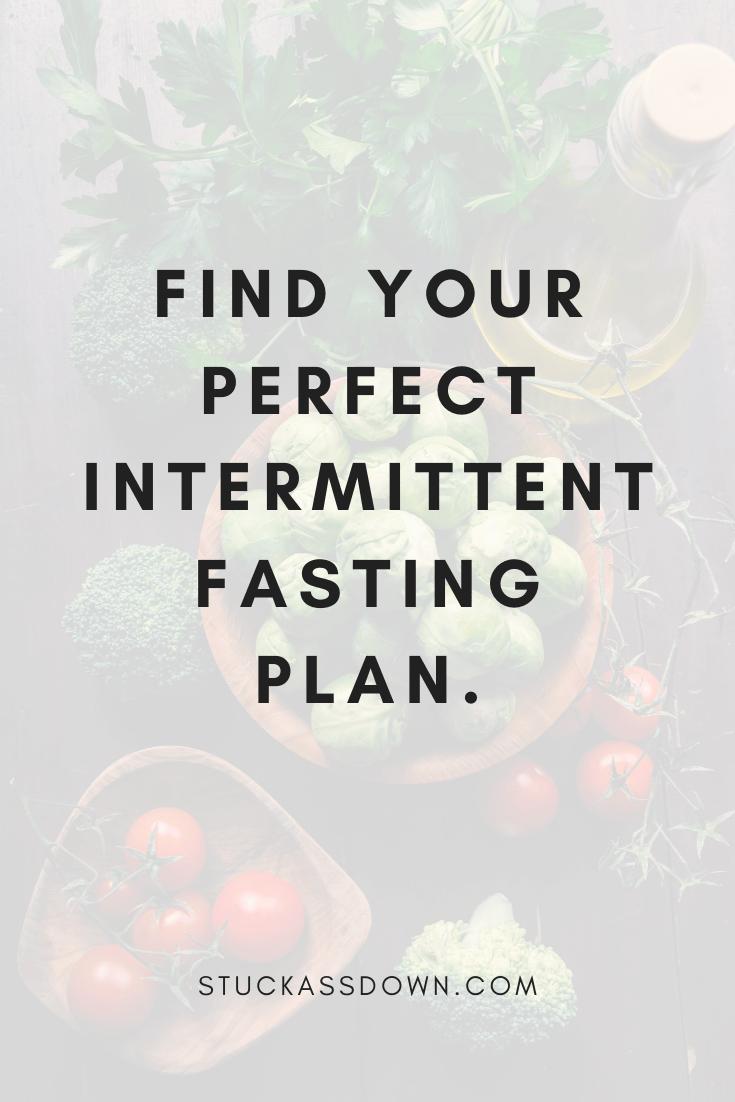 different intermittent fasting schedules