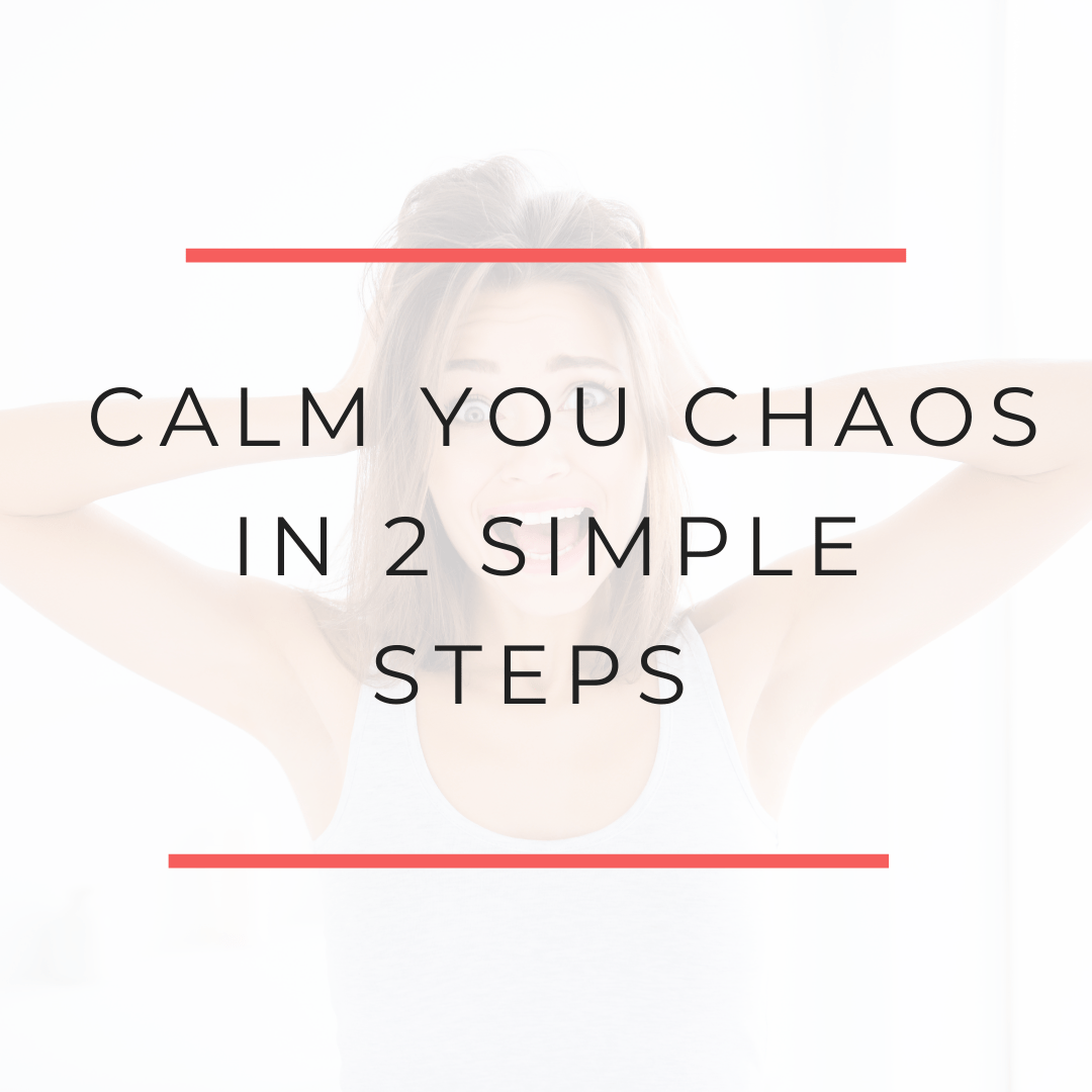 2 Steps to reduce stress and anxiety